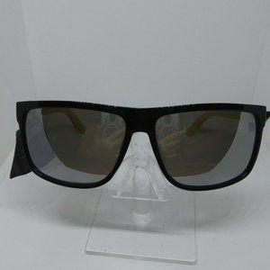 Authentic SM Black Mirrored Lens Retro Sunglasses